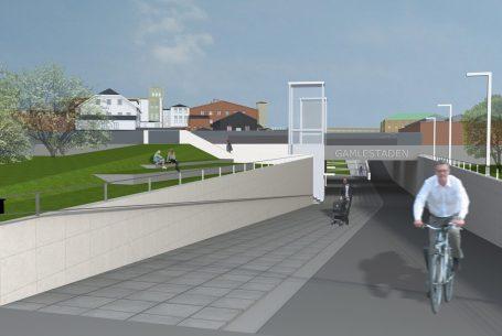 GC-tunnel Gamlestaden