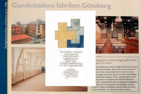 Nominering 1996 – gamlestadens fabriker, Göteborg